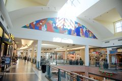 Art Work am Wolfchase-Mall, Memphis, Tennessee Stockfoto