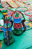 Art works , Indian handicrafts fair at Kolkata Royalty Free Stock Photos