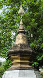 Art in Xieng Thong temple, Ancient temple, Laos. Stock Images