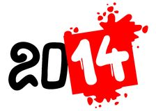 2014 art year Stock Image