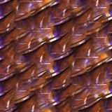 Art Yellow, Flieder, brauner Aquarelltinten-Farbenklecks lizenzfreie abbildung