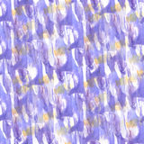 Art Yellow, goutte lilas de peinture d'encre d'aquarelle Photo libre de droits