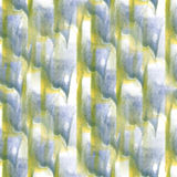 Art Yellow, vert, peinture bleu-foncé d'encre d'aquarelle Images libres de droits