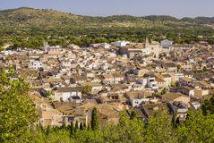 Arta, antike Stadt in Majorca-Insel stockfotos