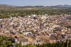 Arta, antike Stadt in Majorca-Insel stockfoto