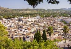 Arta, antike Stadt in Majorca-Insel stockbilder
