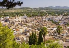 Arta, antike Stadt in Majorca-Insel lizenzfreie stockbilder