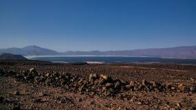 Arta beach of the Tadjoura gulf Djibouti Royalty Free Stock Photo