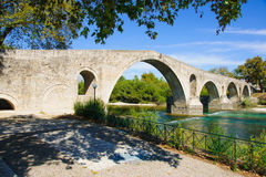 Arta-Brücke, Epirus Lizenzfreies Stockfoto