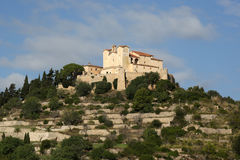 Arta Majorca Mallorca Balearic Islands church Spain closeup. Travel Stock Photography