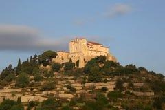Arta Majorca Mallorca Balearic Islands church Spain evening clos. Eup travel Royalty Free Stock Photography