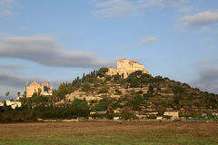 Arta Majorca Mallorca Balearic Islands church Spain Royalty Free Stock Photo