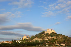 Arta Majorca Mallorca Balearic Islands panorama church Spain. Travel Stock Photography
