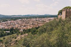 ARTA, MALLORCA, SPAIN. SEPTEMBER 16, 2017: Inside Arta. View of city with details Stock Photography