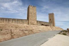 Artajona, Ναβάρρα, Ισπανία Στοκ φωτογραφία με δικαίωμα ελεύθερης χρήσης