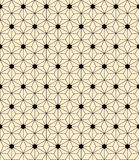 Artdeco pattern. Exquisite vector seamless art deco pattern Stock Image