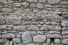 Artdesign des wirklichen Steinwand-Oberflächenmusters graues Farb Lizenzfreies Stockbild