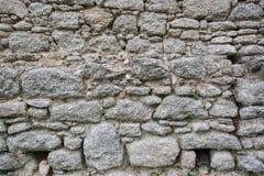 Artdesign des wirklichen Steinwand-Oberflächenmusters graues Farb Lizenzfreie Stockfotografie
