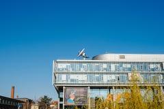 Arte电视总部在史特拉斯堡 免版税库存照片