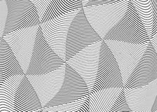 Arte óptica Imagem de Stock