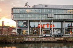 Arte (σχετικό à Λαένωσης Télévision Européenne) telev Στοκ εικόνες με δικαίωμα ελεύθερης χρήσης