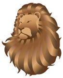 Arte 1 do leão dos animais selvagens Fotos de Stock Royalty Free