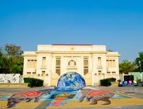 arte 3D en la calle (el 23 de marzo-7 de abril de 201 Foto de archivo