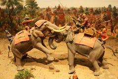 arte 3D: guerreiro Fotos de Stock Royalty Free