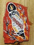 Arte aborigen australiano Fotografía de archivo libre de regalías