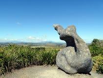 Arte aborigen en Halloran todo el parque de la protección Imágenes de archivo libres de regalías
