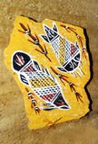 Arte aborigena australiana Immagine Stock