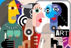Arte abstracto Imágenes de archivo libres de regalías