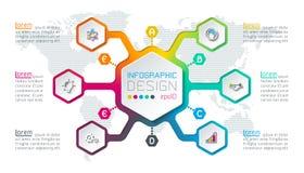 Arte abstracto del infographics libre illustration