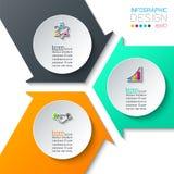 Arte abstracto del infographics stock de ilustración