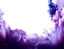 Arte abstracto púrpura Fotos de archivo libres de regalías