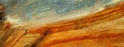 Arte abstrata da textura da impressão Bacground brilhante artístico estoque Arte finala da pintura a óleo Papel de parede moderno ilustração royalty free