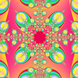 Arte abstrata do Fractal Foto de Stock