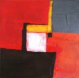 Arte abstrata moderna - pintura - fundo Foto de Stock Royalty Free
