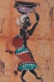 Arte africana Foto de Stock Royalty Free