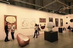 Arte ahora 2011 de Miart Fotografía de archivo libre de regalías