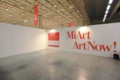 Arte ahora 2011 de Miart Fotos de archivo libres de regalías
