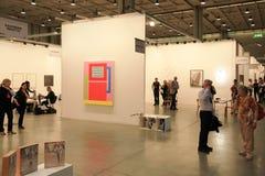 Arte ahora 2011 de Miart Imagen de archivo