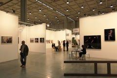 Arte ahora 2011 de Miart Fotos de archivo