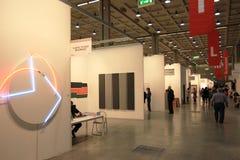 Arte ahora 2011 de Miart Fotografía de archivo