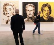 Arte ahora 2011 de Miart Imagenes de archivo
