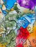 Arte & alma Imagem de Stock Royalty Free