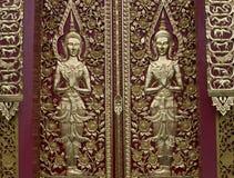 Arte asiático de la escultura del ángel imagen de archivo libre de regalías