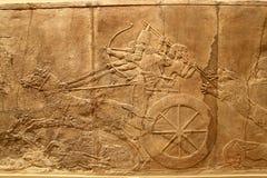 Arte asirio 3 de Acient Foto de archivo libre de regalías