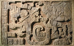 Arte asteca Imagens de Stock Royalty Free