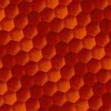 Arte astratta del fondo Rusty Texture d'annata Parquet o pavimento Esagoni geometrici del modello Elemento di progettazione dell' Fotografia Stock